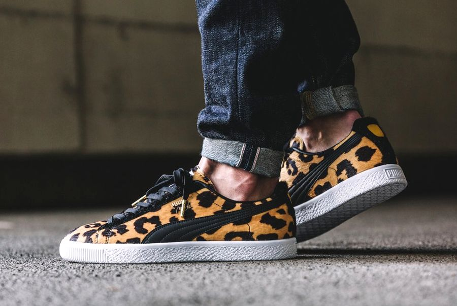 puma sneaker leopard