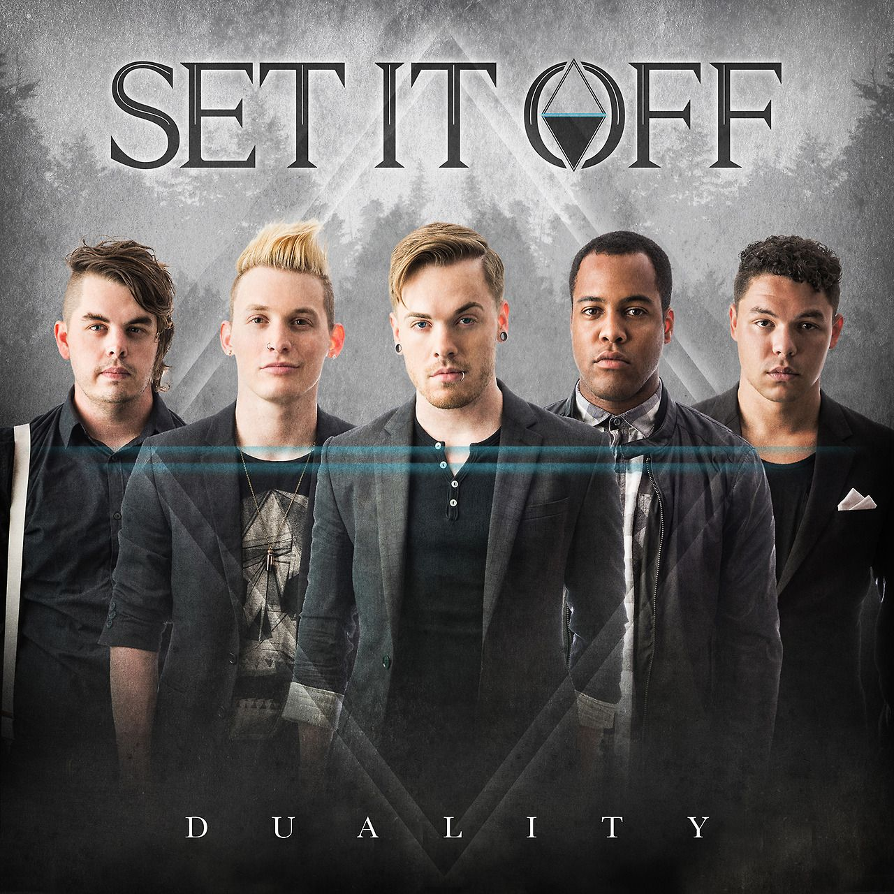 Set It Off Announces Duality Sophomore Album To Be Released October 14 Via Equal Vision Records Fall Tour Supporting Black Ve Emo Music Music Bands Off Band