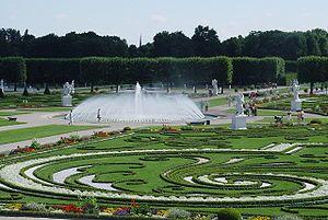 Herrenhausen Gardens Hannover Lower Saxony Germany Botanischer Garten Hannover Herrenhauser Garten Parks