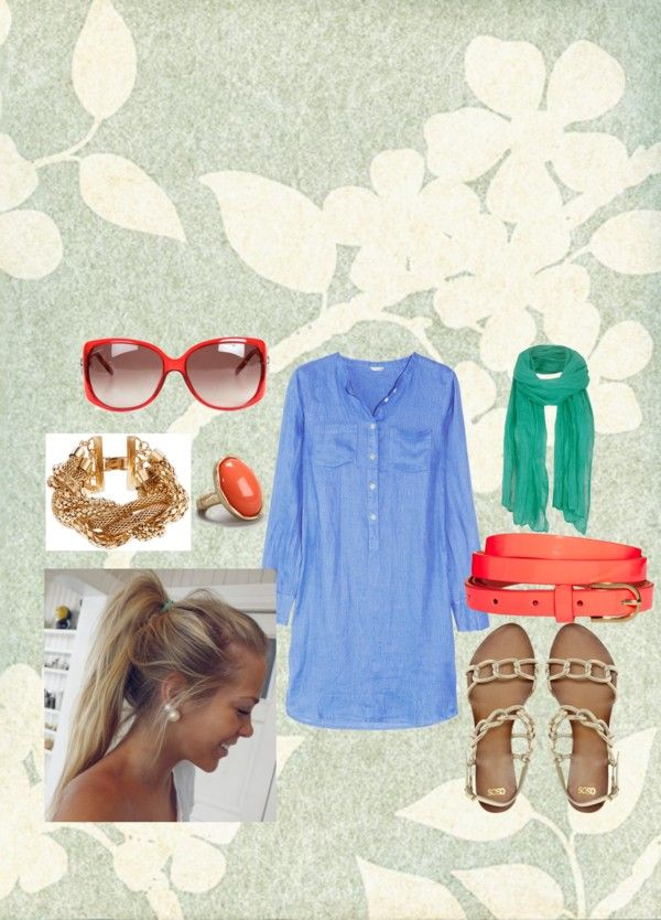 """""""Summer Casual"""" by arianna-adams on Polyvore"""