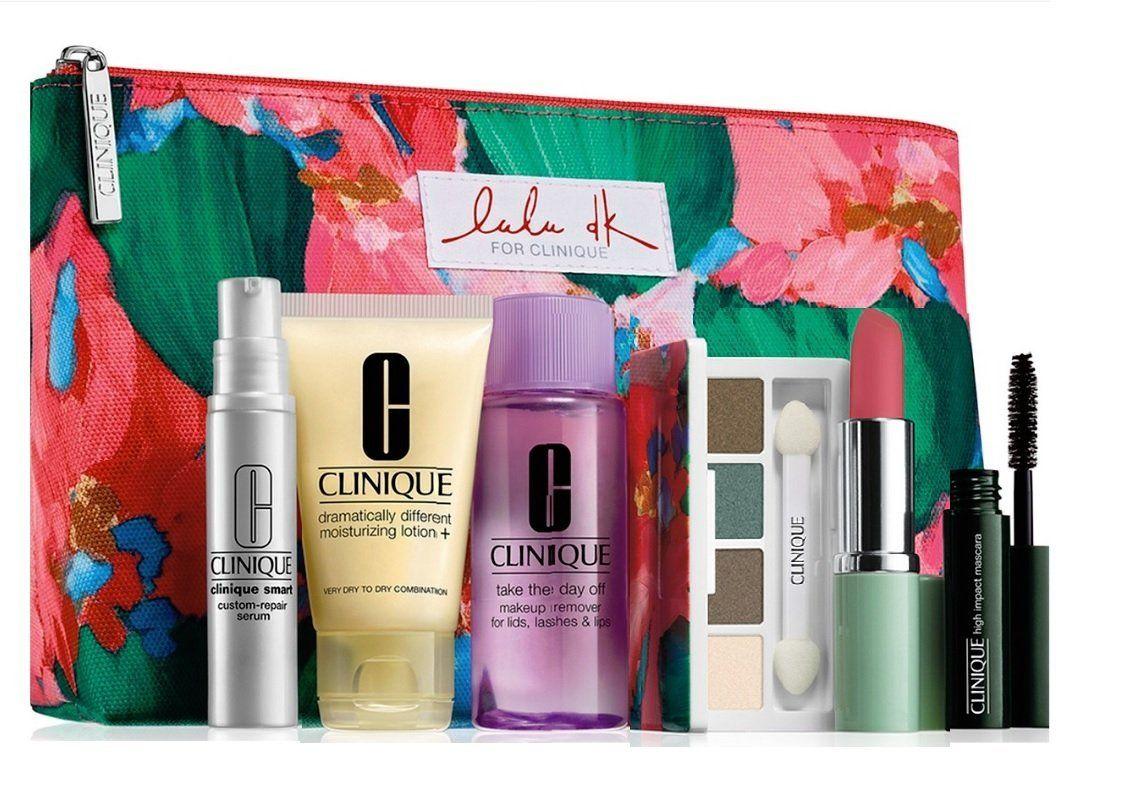 Clinique Skin Care Makeup 7 Pc Gift Set 2015 Winter Smart