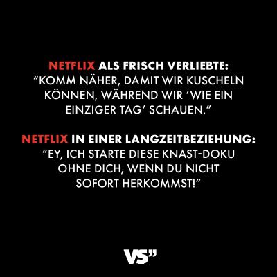 Netflix als frisch Verliebte: Komm näher, damit wir
