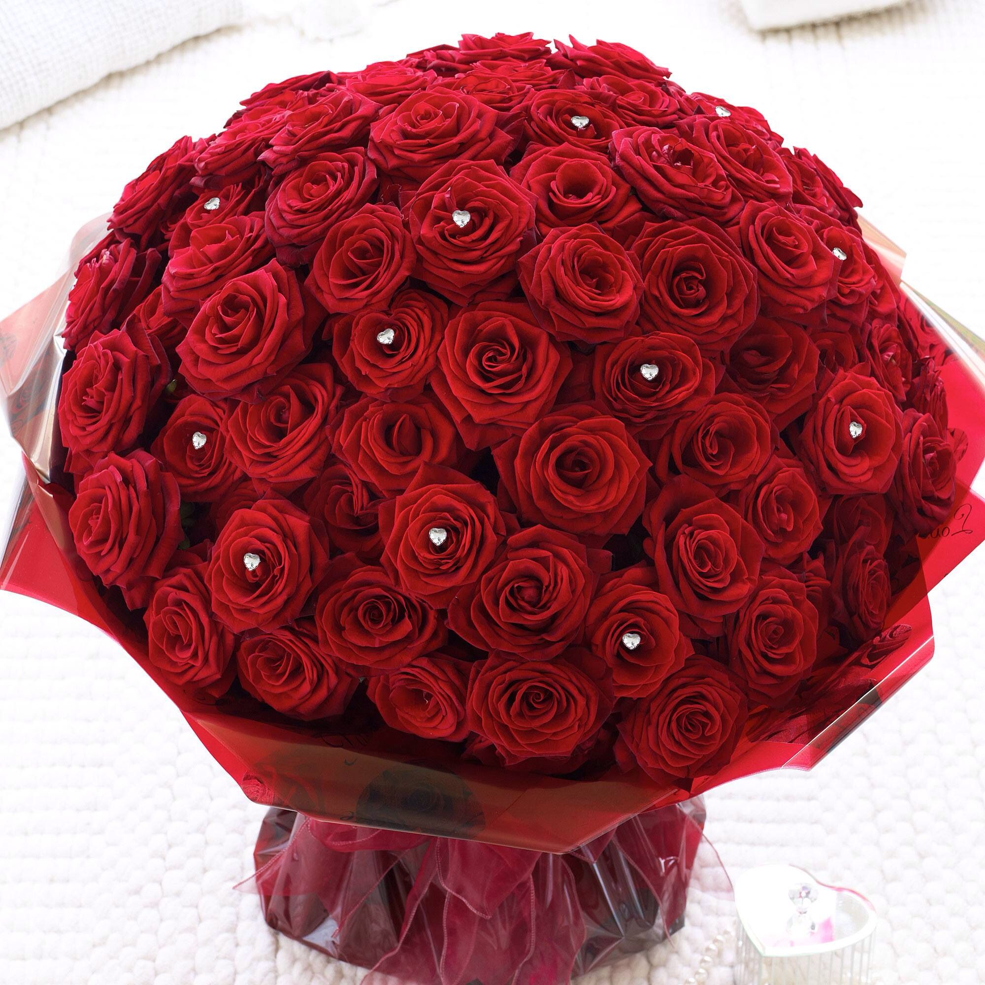 Lush 3 beautiful flowers and thangs pinterest lush flowers order a bouquet of 100 red roses for valentines day with same day or next day delivery izmirmasajfo Images