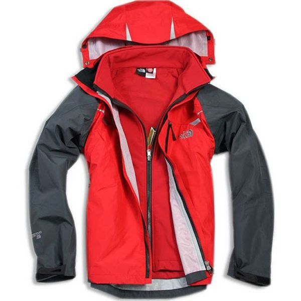 7dd9d26e0 The North Face Men's Gore Tex XCR 3 In 1 Red Jacket | North face ...