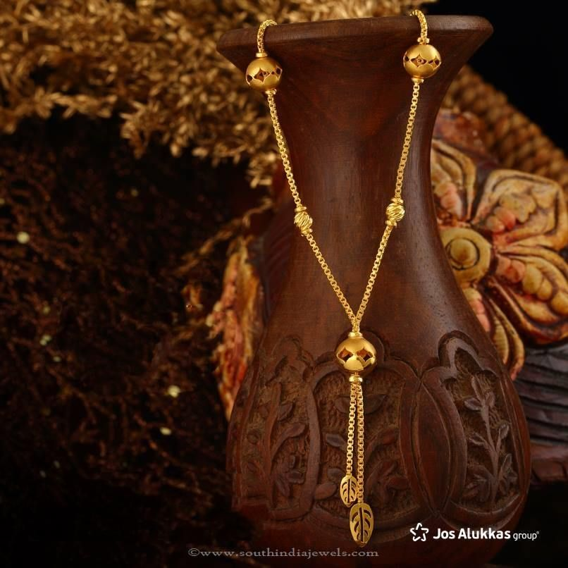 india south from designer jewels chains gold design tanishq