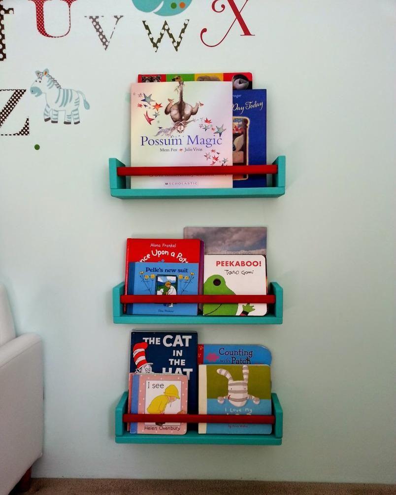 Tuneos para sacar partido a nuestros muebles estantes - Libreria infantil ikea ...