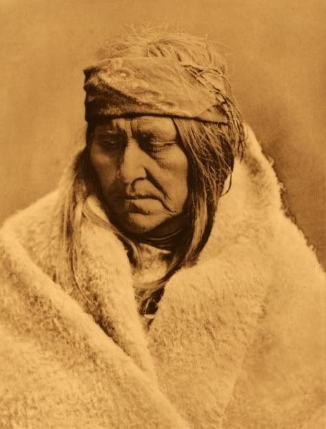 Two Bear Woman - Piegan, Edward S. Curtis (1908)