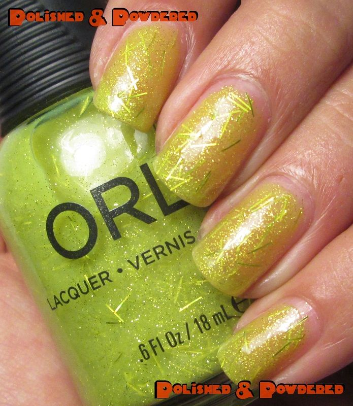 Orly - Lush (Summer 2014 Collection) -$4 BN swatched on one nail ...