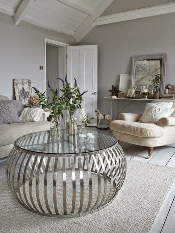 interesting wallpaper centerpieces living room coffee table | Brilliant Eye-Catching Unique Coffee Tables That Will ...