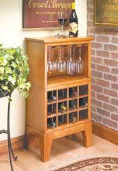 Modular Wine Server Woodsmith Magazine Let S Build