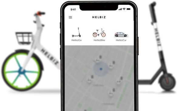 Helbiz App Go Car Bike Go Car Iphone Transportation