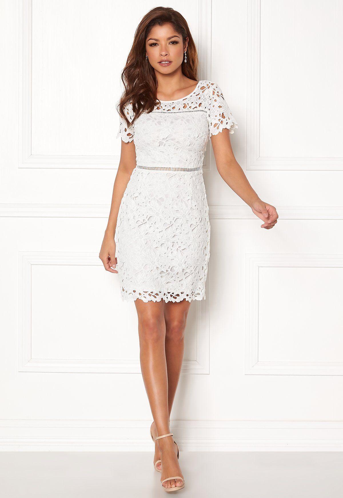 7ee5f453521b Chiara Forthi Felizia Lace Dress Cream - Bubbleroom | Vackra ...