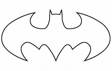 Batman Logo Coloring Page Printable Coloring Pages For Kids Download Free Printable Coloring Pages For Kids Batman Kurbis Kurbisschablone Basteln