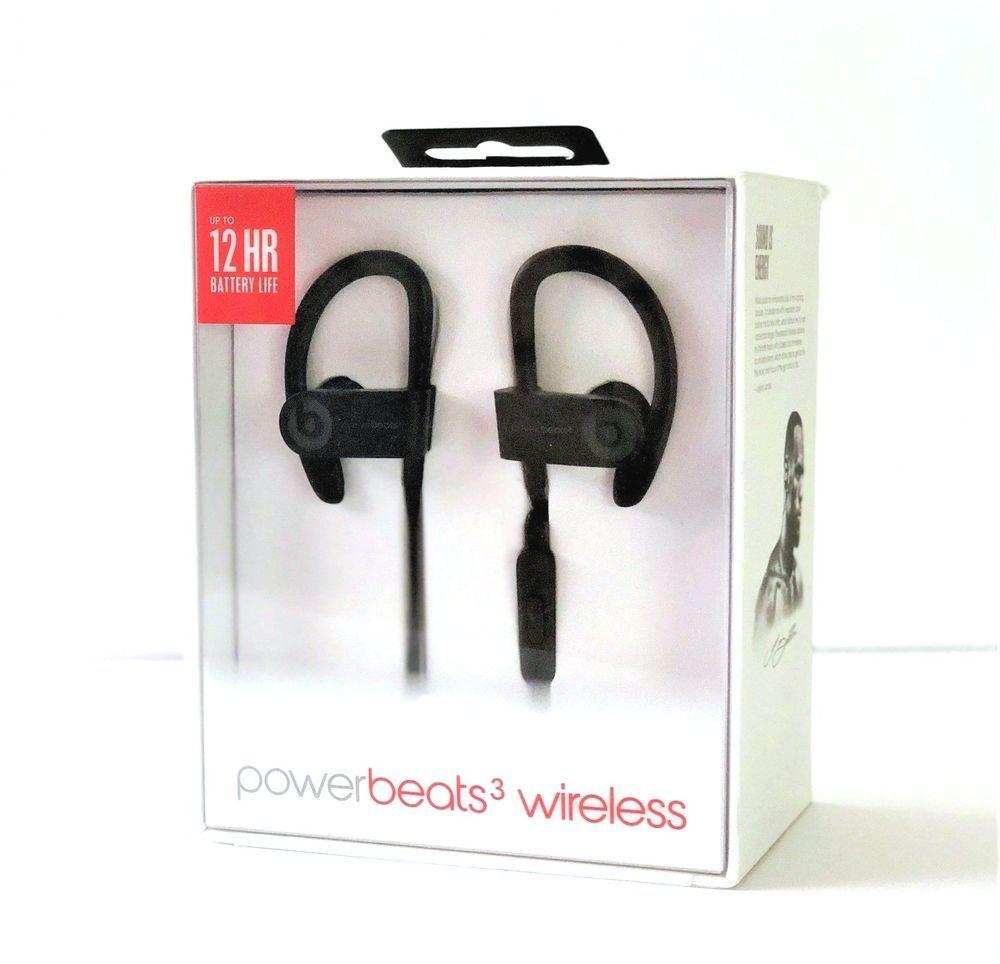53e3a0242d9 Beats by Dr. Dre Powerbeats3 Wireless Ear-Hook Headphones Black ML8V2LL/A  A1747 #BeatsbyDrDre