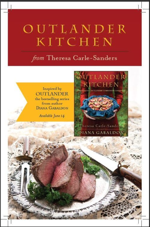 Outlander Kitchen: The Official Outlander Companion Cookbook is on sale!
