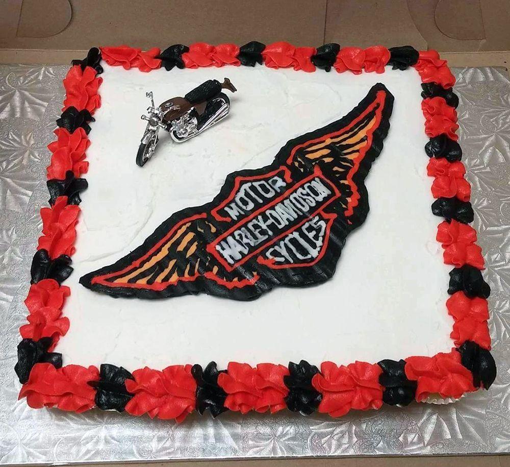 Harley Davidson Pull Apart Cupcake Cake Made By Cupcasions Kelowna