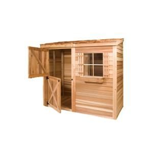 Best Cedarshed Clubhouse 8 Ft 9 In X 13 Ft Western Red Cedar 400 x 300