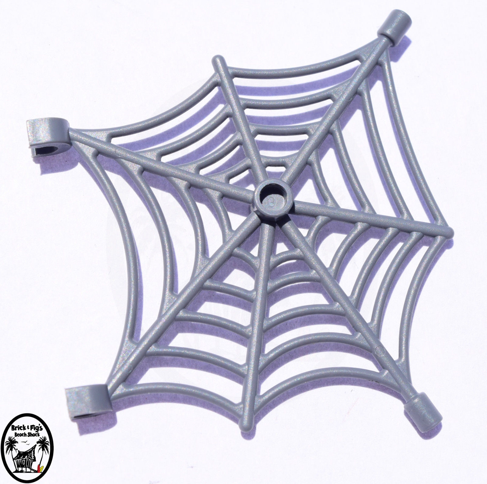 ☀️NEW Lego Halloween Animal DB Gray Spider Web Spiderweb w// clips Scary