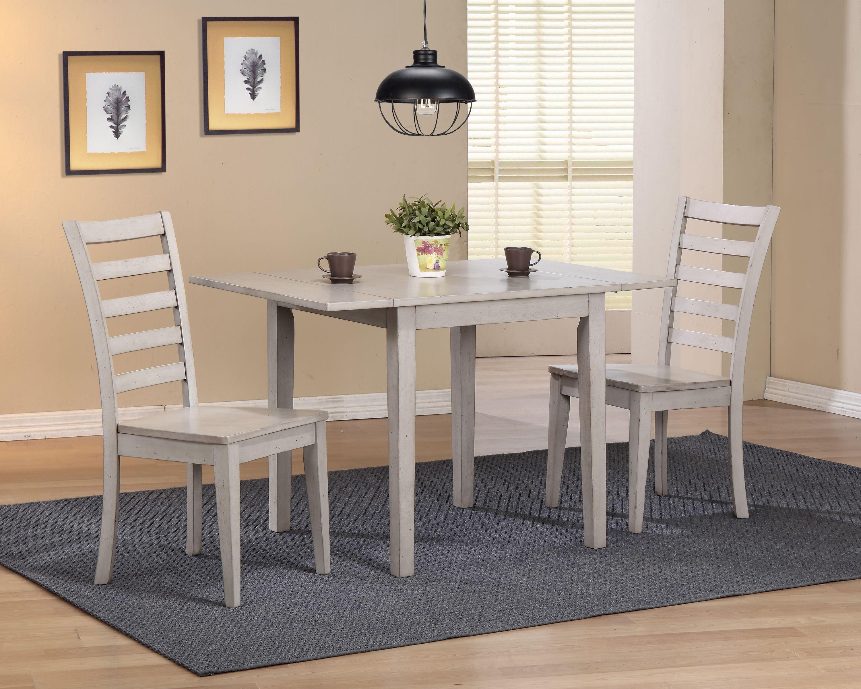 Carmel 3 Piece Dining Set Contemporary Dining Room Sets Interior Design Dining Room Modern Dining Room