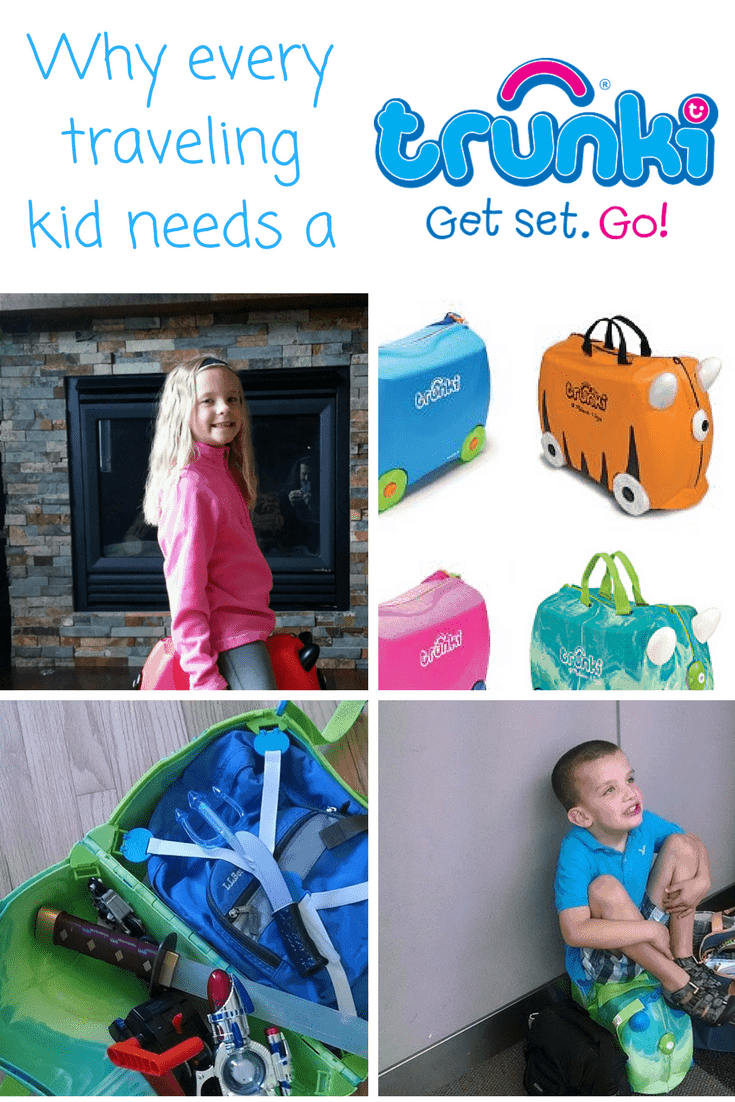 10 Travel Hacks to try with your Trunki Suitcase Kids