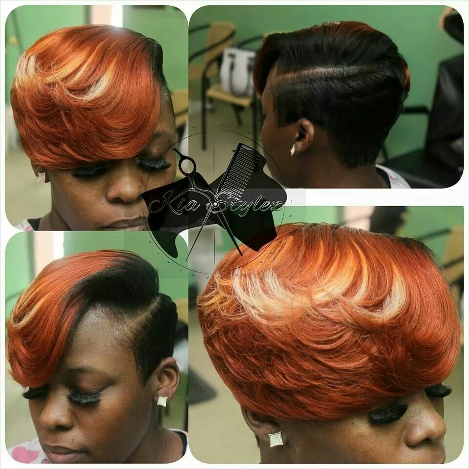 Fire d hair pinterest
