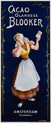 Cacao Olandese. 1905.alimentación @@@@......http://www.pinterest.com/marajosmuoz/publicidad-antigua/