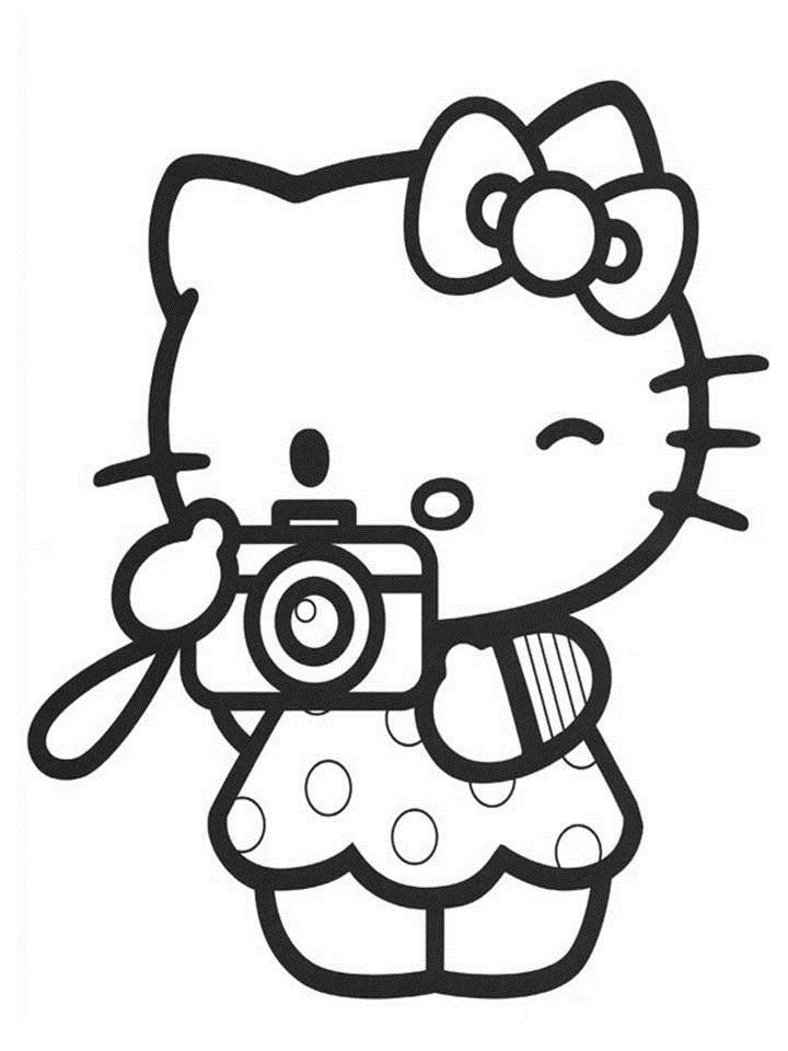 Sanrio   Coloriage hello kitty, Coloriage kawaii, Coloriage