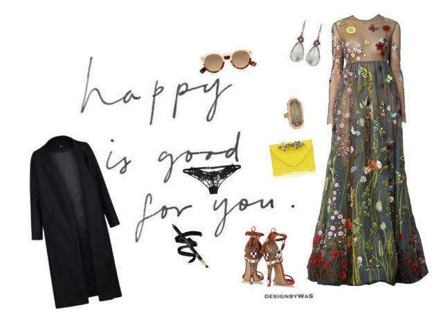 """""""Because I'm happy!"""" by kitty1126 ❤ liked on Polyvore featuring Non, Etro, Illesteva, Arunashi, Agent Provocateur and Maison Du Posh"""