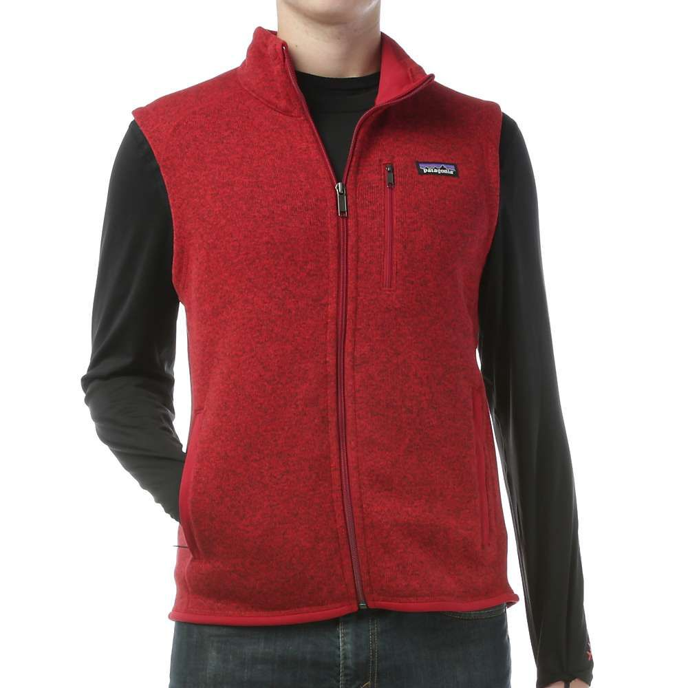 Patagonia Men's Better Sweater Vest - XL - Classic Red | Products ...