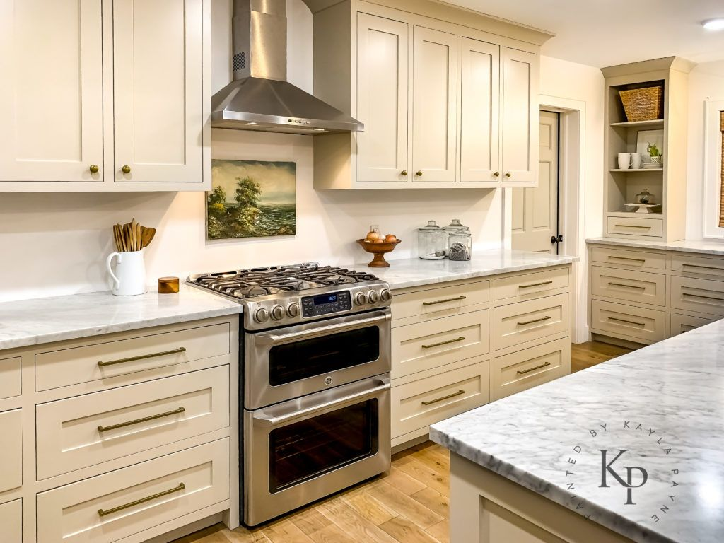 Revere Pewter Kitchen Cabinets Painted By Kayla Payne Revere Pewter Kitchen Kitchen Cabinet Doors Painting Kitchen Cabinets