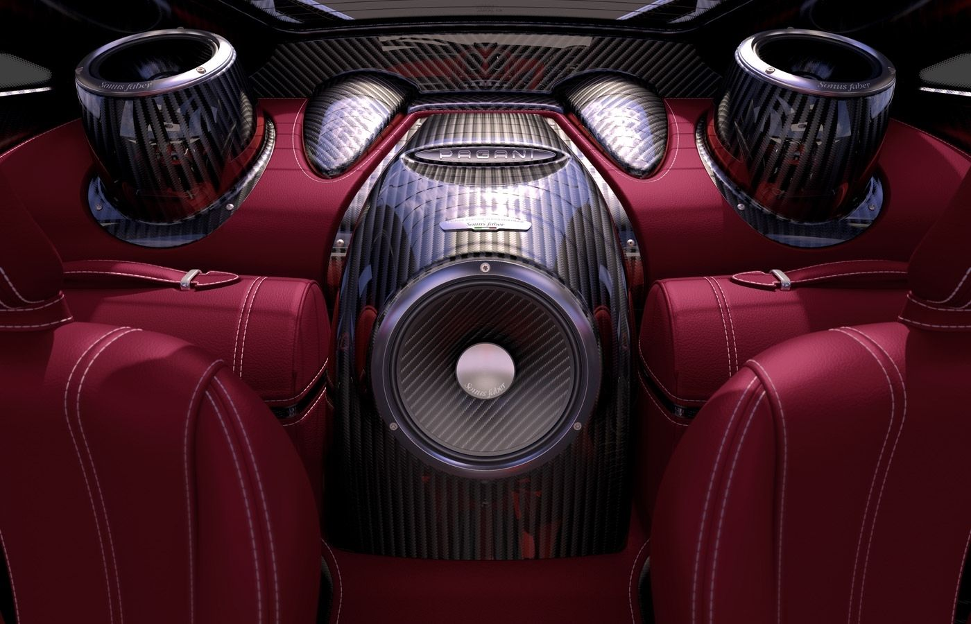 High End Car Speakers By Sonus Faber Complete Car Audio System