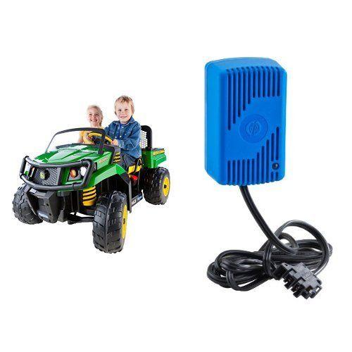 Peg Perego Ride On Toys >> Peg Perego John Deere Green Gator Xuv With 12 Volt Quick