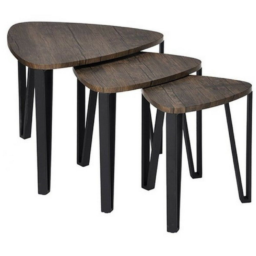 Simplistic End Table Set Of 3 Nordic Scandinavian Style Coffee Table Mid Century Contemporary Simple Mo In 2020 Mid Century Coffee Table Coffee Table Living Room Table