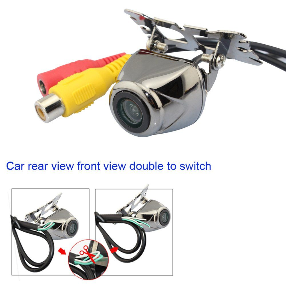 uxcell 1//4 inch CCD Flush Mount Backup Rear View Camera a12100400ux0624