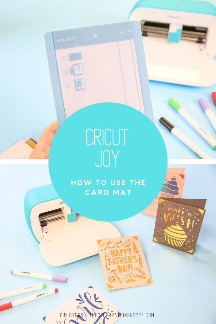 How To Use The Cricut Joy Card Mat Joy Cards Diy Father S Day Cards Father S Day Diy