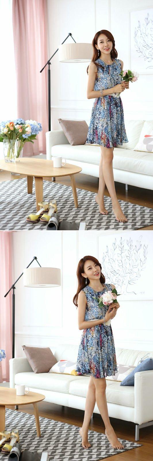 Si en invierno muchas mujeres coreanas utilizan vestidos, pues ya se imaginarán que en verano esta prenda es una de las favoritas para l...