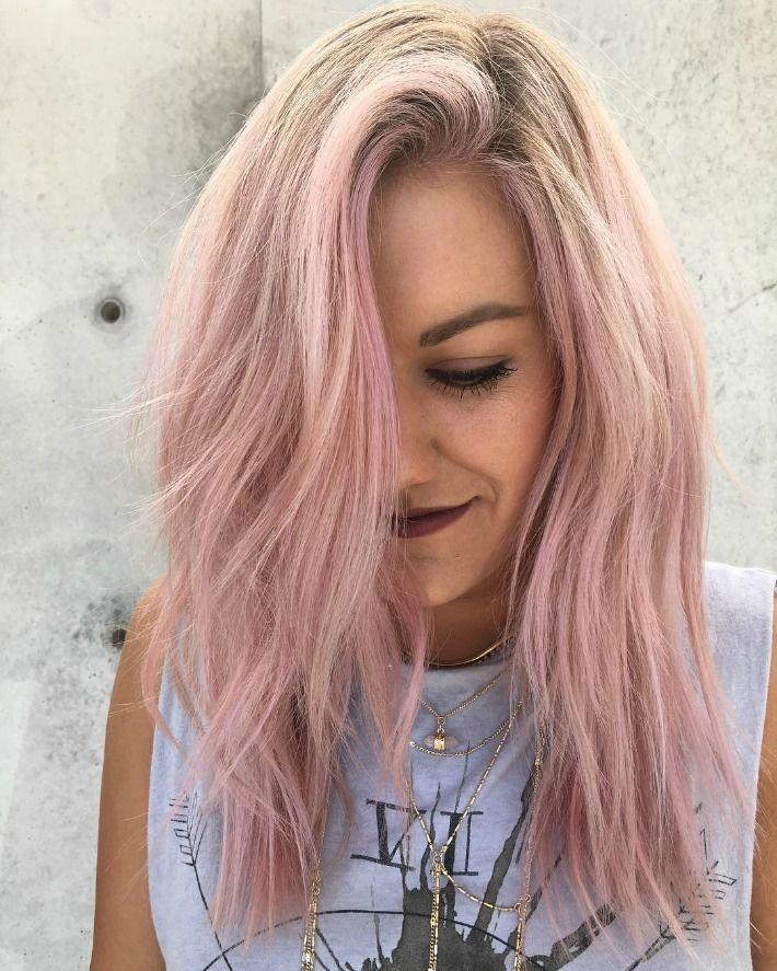 Pin By Meredith Wegener On Hair Pink Blonde Hair Pink Hair Dye