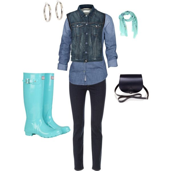 EQ's Styles and Fashions for Women 50 and younger by eqnews on Polyvore featuring Fat Face, rag & bone, 7 For All Mankind, Hunter, Zatchels and Kate Spade