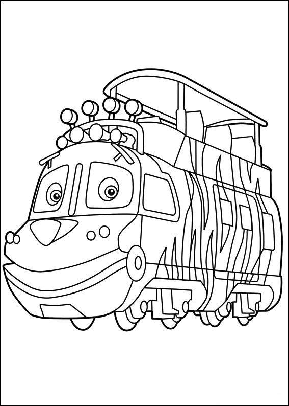 Dibujos para Colorear Chuggington 5 | malebog | Pinterest | Colorear ...