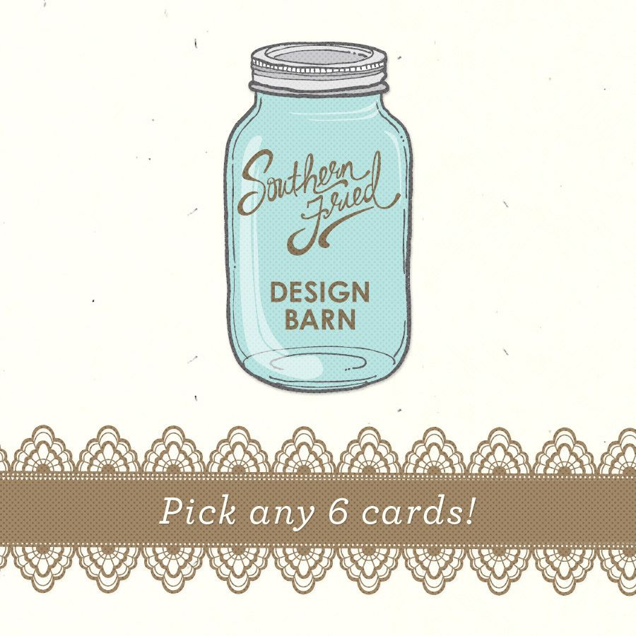 Pick any 6 cards from the Southern Sayings Collection or Tennessee ...