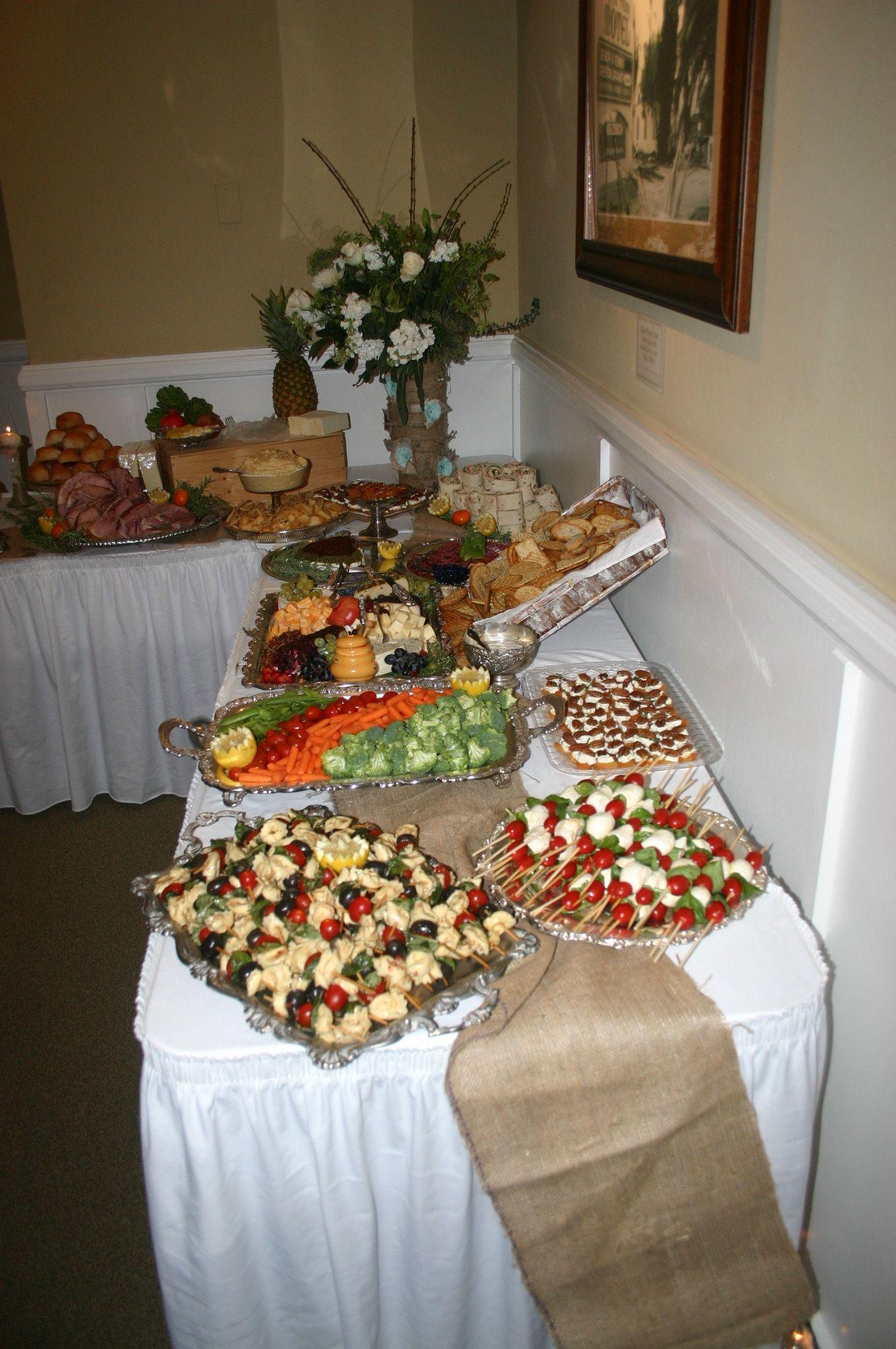 Diy wedding table decorations ideas  DIY wedding food ideas  caprese or fruit skewers Buy skewers at