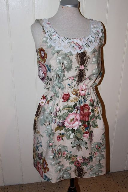 DIY - Dress out of a curtain
