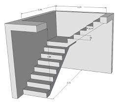image result for calcul escalier avec palier dom i ogr d. Black Bedroom Furniture Sets. Home Design Ideas