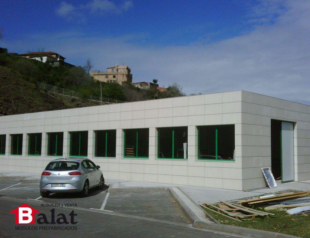 Construcci n modular oficinas prefabricadas para for Construccion modular prefabricada