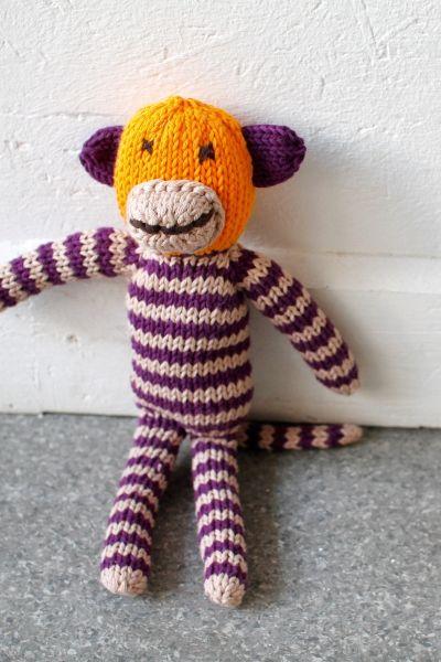 Spielzeug stricken - Affe - kostenlose Anleitung - Initiative ...
