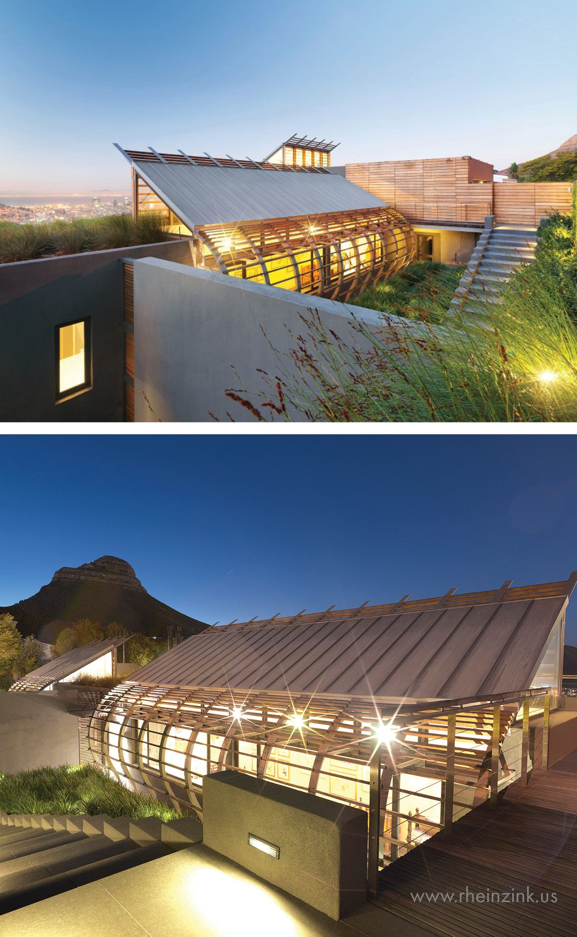 Best Home In S Africa Zinc Metal Roofing Rheinzink 400 x 300