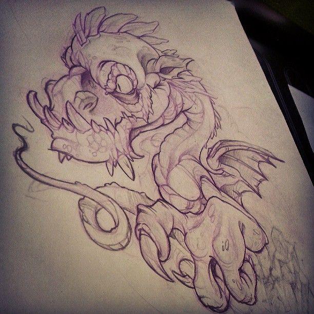 Drawing The Line Tattoos Tara Mccabe : Tara quinn taraquinntattoos illustration inspiration
