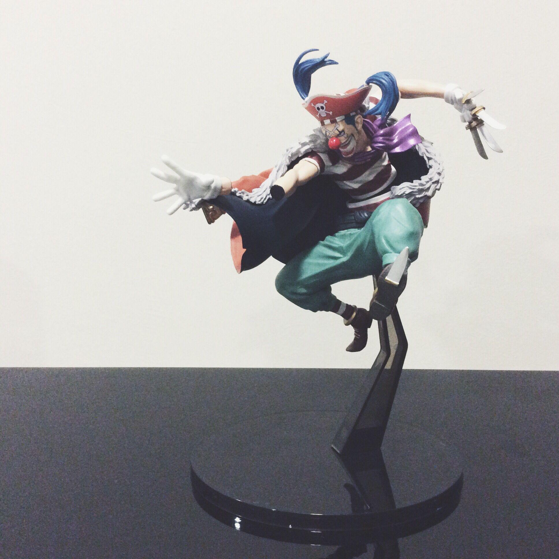 One Piece Buggy Banpresto Figure Colosseum IV 4 SCultures vol.4 New No Box