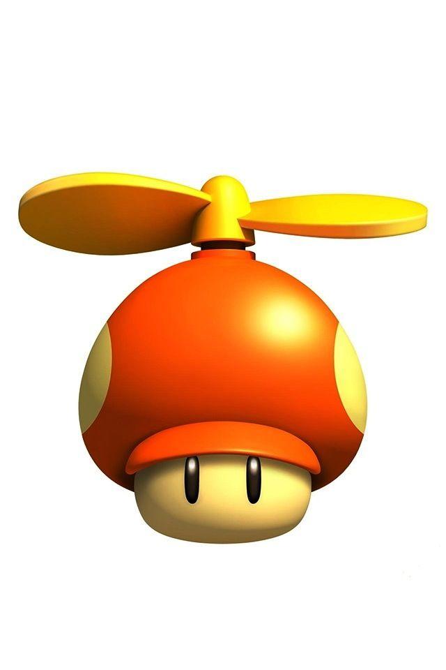 The Helicopter Hat Is Everyone S Favorite Hongo De Mario Dibujos De Mario Juegos Super Mario