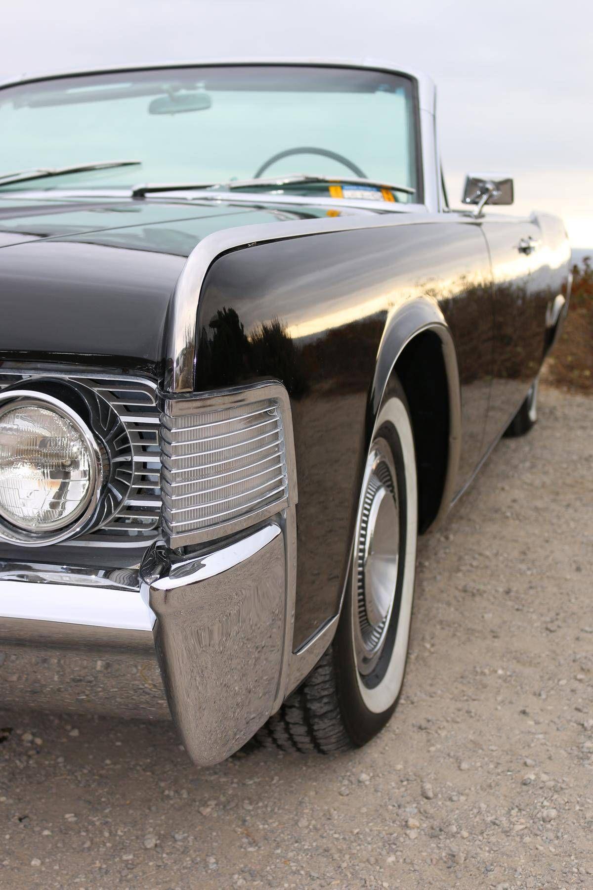 1965 Lincoln Continental Laguna Beach Presidential Black W Black